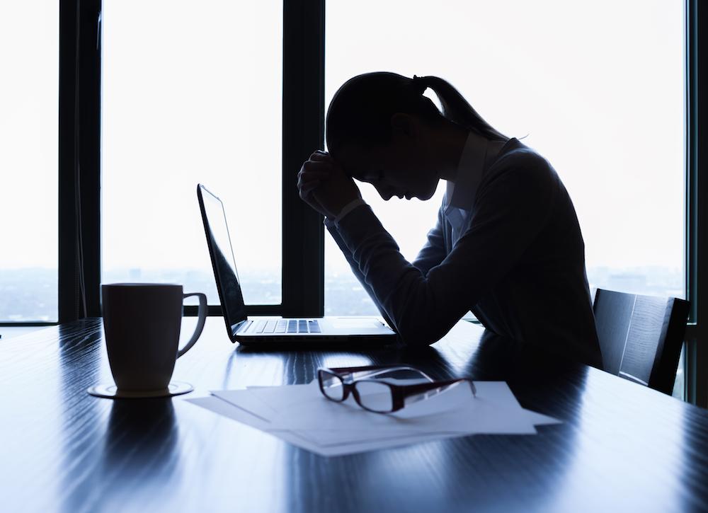 Stresssed Businesswoman